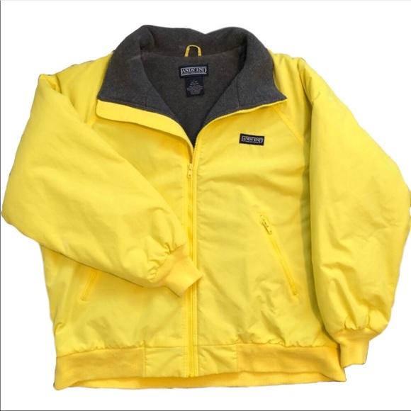 3a863510ba VINTAGE Lands  End Yellow Men s Coat Size L 42 44.  M 5a4cd1231dffda476300de13